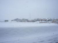 平成23年1月17日大雪の日進市の朝
