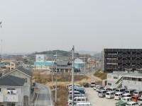 米野木駅の上からの眺め