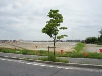 竹の山小中学校の建設予定地