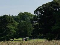 和合ゴルフ場でゴルフ