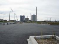 米野木駅の北側にある新しい交差点北向き