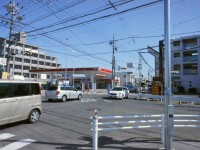 浅田の交差点