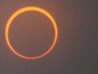 日進市で金環日食が見えた!拡大