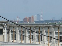 名古屋駅を眺める