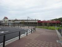 米野木駅のロータリ