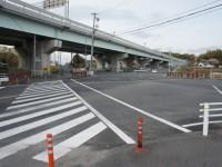 北新橋の交差点