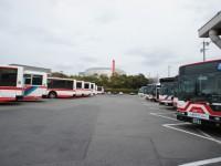 名鉄バスがいっぱい