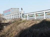東名高速道路の南山橋
