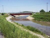 川幅が広がっている
