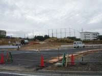 赤池開発団地の迂回路