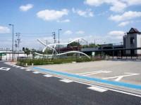米野木駅のオブジェ