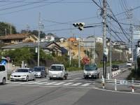 岩崎の交差点