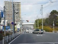 米野木駅南の交差点