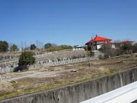 赤い屋根のお寺
