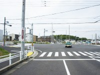 米野木橋南の交差点