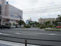 赤池駅駅前の歩道1