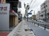 赤池駅駅前の歩道2