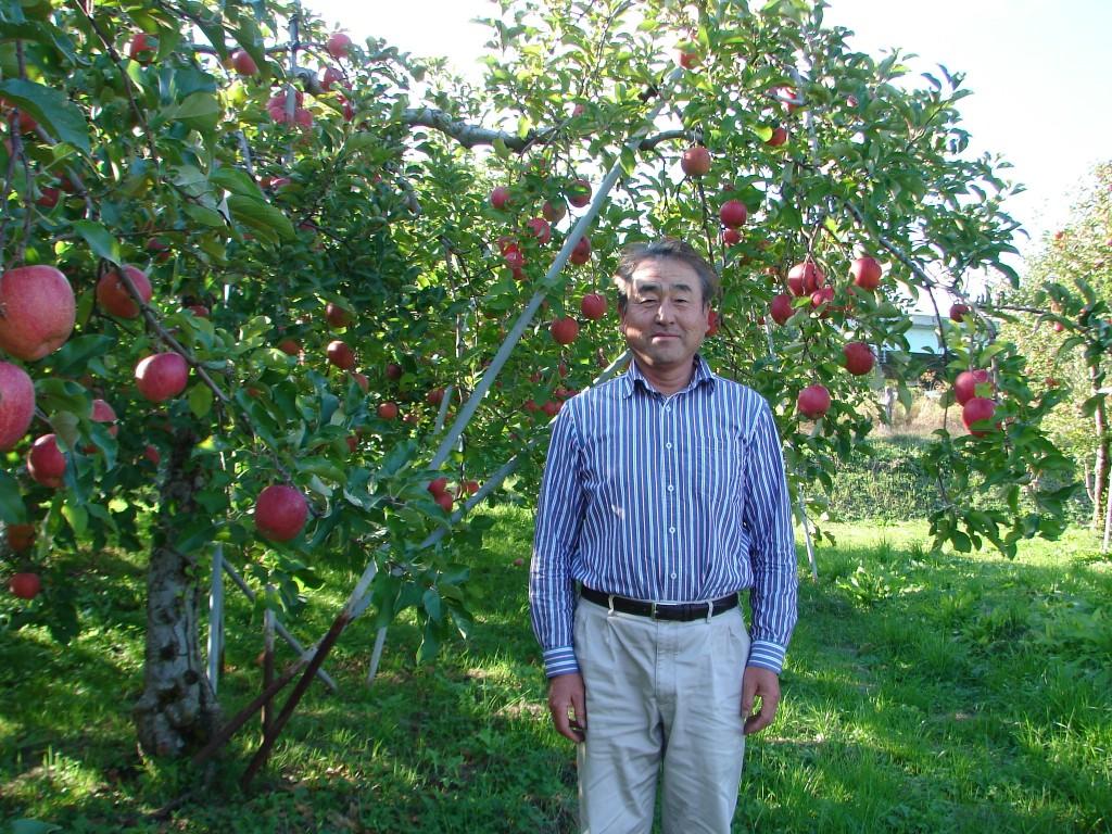 長野りんご農家阿藤さん